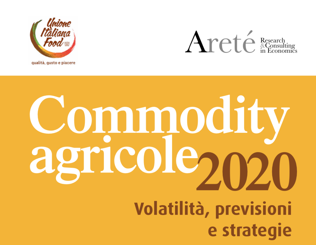 Commodity agricole 2020. Volatilità, previsioni e strategie.